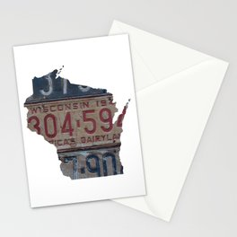 Vintage Wisconsin Stationery Cards