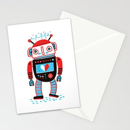 Your Robot Friend. Stationery Cards
