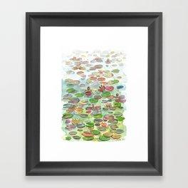 Waterlily II Framed Art Print