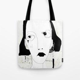 « portrait » Tote Bag