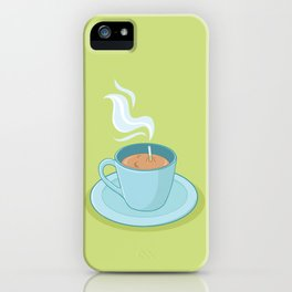 Hot Coffee, Not! iPhone Case