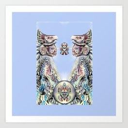 Eagle Warriors  Art Print
