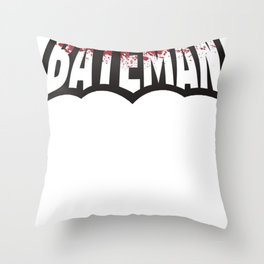 BATEMAN Throw Pillow