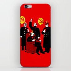 Communist Party II: The Communing iPhone & iPod Skin