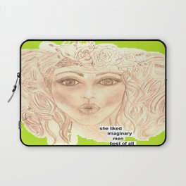 Bebe Likes Imaginary Men Laptop Sleeve