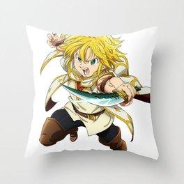 Meliodas Throw Pillow