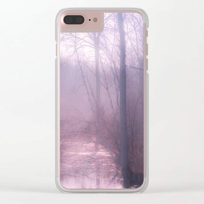 Leave Me Lonely Clear iPhone Case
