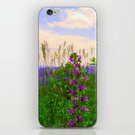 Delphinium Staphisagria iPhone Skin