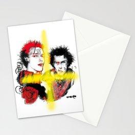 Pistols pixels Stationery Cards