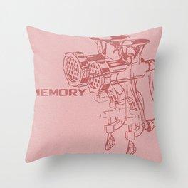 Soviet memory machine Throw Pillow