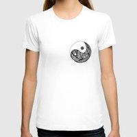 yin yang T-shirts featuring Yin Yang by Bearskin