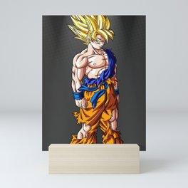 Goku Dragon Ball Super Mini Art Print