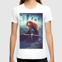 merida T-shirts featuring Brave - Merida by Juniper Vinetree