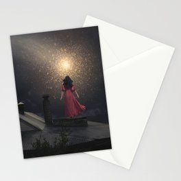The Stars are Falling Stationery Cards