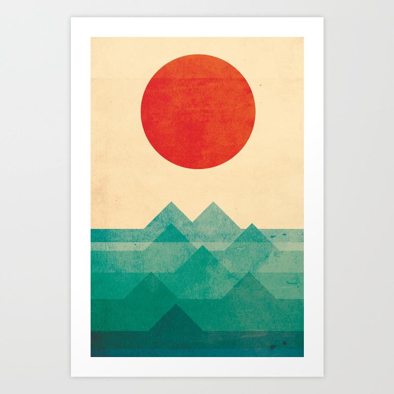 Illustration, Pop-art and Vintage Art Prints | Society6