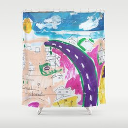 O'Connel Street Shower Curtain