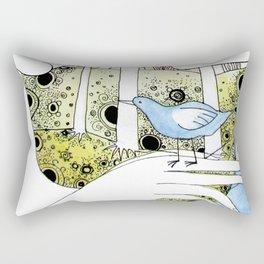 Spring-love-bird-arms-sheandhim Rectangular Pillow