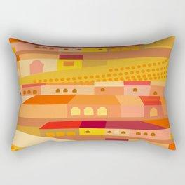 Latin Culture in New England Rectangular Pillow