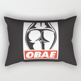OBAE the booty. Rectangular Pillow