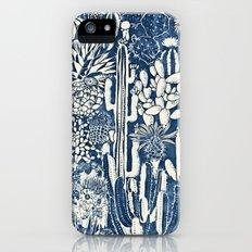 Indigo cacti Slim Case iPhone (5, 5s)