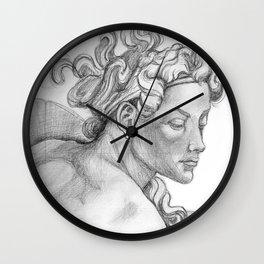 Ignudi Sistine Chapel Wall Clock