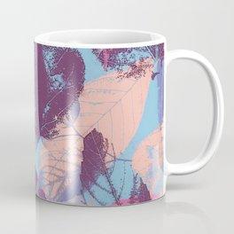 Colorful abstract leaves 1 Coffee Mug