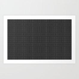 Dot Matrix Art Print