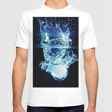 Ideas Mens Fitted Tee MEDIUM White
