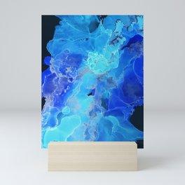 Deep blue heaven Mini Art Print