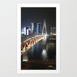 Bridge of Nightingale Art Print