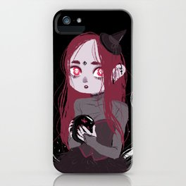 Ghost Witch iPhone Case