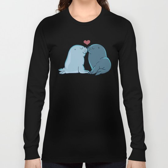 Seal Kisses Long Sleeve T-shirt