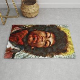 Jimi Hendrix Rug