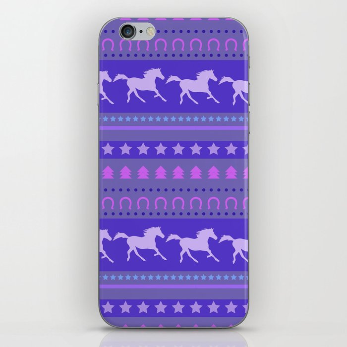Horse Pattern iPhone Skin
