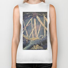 The Healing Crystal cave Biker Tank