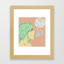 All Alone Framed Art Print
