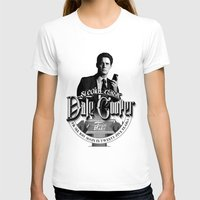 dale cooper T-shirts featuring Dale Cooper - Twin Peaks by KevinART