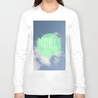 cloud Long Sleeve T-shirts featuring CLOUD by Jackson Todd