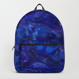 Blue Abyss Abtract Backpack