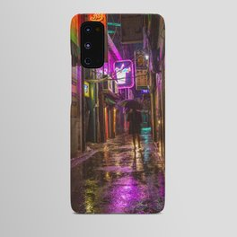 Night Time Rain Android Case