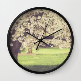 The Cherry Orchard Wall Clock