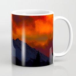 Fire Red Sunrise Coffee Mug