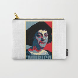 Christopher Columbus Murica Carry-All Pouch
