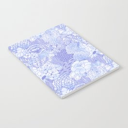 Icy Bloom Notebook