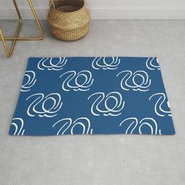 Blue Swan Dance Rug