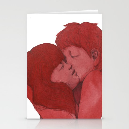 Being a Heart  Stationery Cards