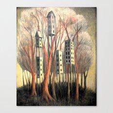 Hi-Rise Wilderness IV Canvas Print