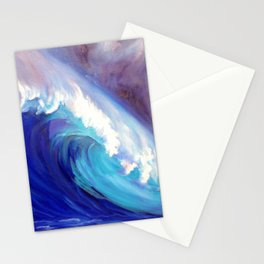 North Shore Wave Oahu 1 Stationery Cards