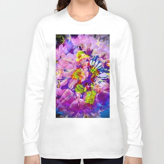 flowers magic Long Sleeve T-shirt