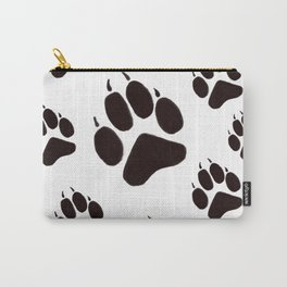 Wolf paw print Carry-All Pouch